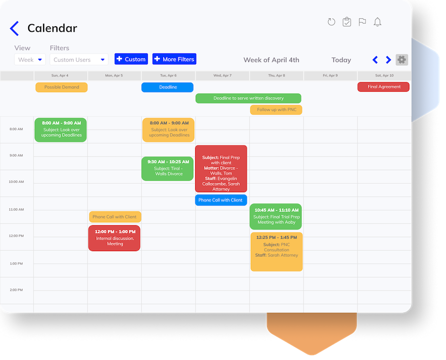 Use Filters to See Your Team's Calendar