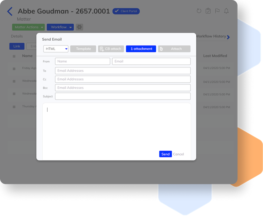 Attach Documents to Your Emails